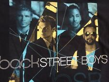VTG, 2008 Backstreet Boys Unbreakable Tour EVERYBODY Rare T-SHIRT M