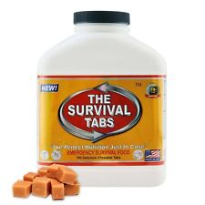 Survival Tabs 180 Hurricane MRE Bugout Food 15 Day Supply Butterscotch