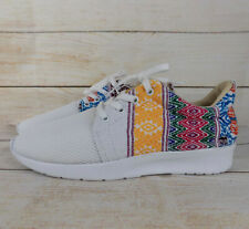Mexican Embroidered Unisex Sneakers Mens US Size 10 Womens US Size 11 Mexican 28