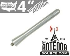 "**SHORT** 4"" ALUMINUM SILVER ANTENNA MAST-FITS: 2013-2019 Ford Escape"