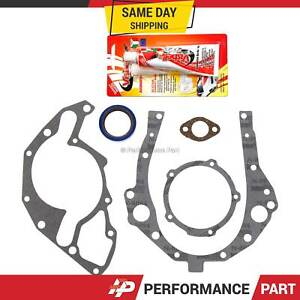 Timing Cover Gasket for Buick Cadillac Chevrolet Isuzu Oldmobile Pontiac 3.1 3.4