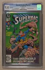 Superman The Man of Steel #17REP.2ND CGC 9.4 1992 0958505011