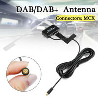 Universal DAB DAB+ Digital Car Radio Aerial Antenna Glass Mount MCX Male Plug