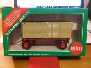 Discontinued SIKU 2859 Beet Trailer, 1:32, BNIB