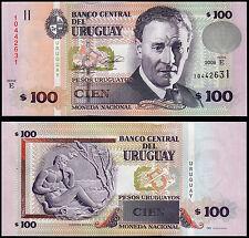 URUGUAY 100 PESOS (P88a) 2008 SERIE E UNC