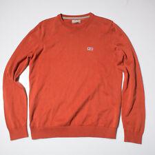 Napapijri Mens  Jumper Sweater Size M orange