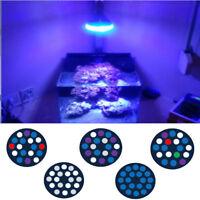 Full Spectrum 54W LED Aquarium Lights E27 LED Reef Lighting for Corals Refugiums