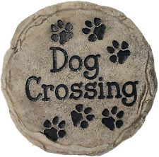 Spoontiques Garden Décor Dog Crossing Memorial Stepping Stone, Home Decor