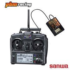 Sanwa EXZES ZZ 2.4 GHz Receptor RC Digital Transmisor + RX-4472 - SA101A32071A