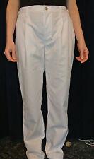 Mesdames blanc esthéticiennes Healthcare élastique pantalon 12-16 spa Pantalons infirmière