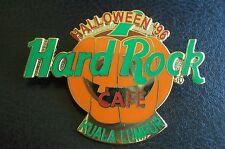 HRC Hard Rock Cafe Kuala Lumpur Halloween 1996 Pumpkin XL Fotos
