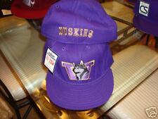 WASHINGTON HUSKIES FITTED CAP size  20CT WHOLESALE LOT VINTAGE  NEW 1990'S