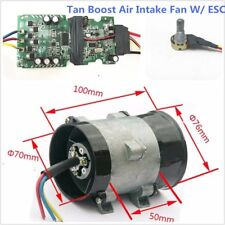 12V 16.5A Turbo charger Tan Boost Air Intake Fan Bold Lines Great With ESC