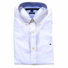 262ec4b7483f Tommy Hilfiger Buttondown Shirt Mens Long Sleeve Custom Fit Casual Collared  2xl White