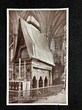 Vintage Real Photo Postcard: Westminster Abbey #TP1738: Shrine Edward Confessor