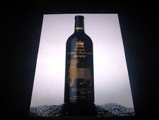 rare etiquette photo chateau Mouton Rothschild 2000 wine label wein etikett