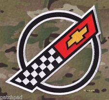 """VETTE CORVETTE RACE TEAM 1984-1996 Corvette C4 FRONT HOOD NOSE EMBLEM 9.5"""" PATCH"""