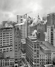 A0 print post vintage  old New York City 1901 black white photo USA