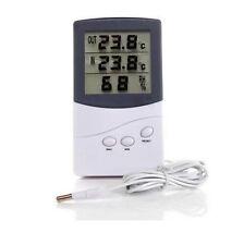 LCD Digital Innen Außen Thermometer Hygrometer Luftfeuchtigkeitsmesser  6458