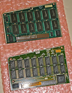 LOT of 2 Static RAM Memory Expansion Cards for Macintosh Portable 5120