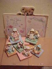 Cherished Teddies Once Upon A Teddy Nursery Rhymes Set 8 Pieces 1993 Mint Enesco