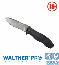 Walther Pro Traditional Folding Knife + Carry Sheath - 52011