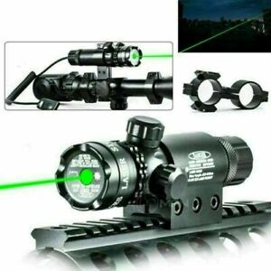 Tactical Scope Mount Laser Sight Dot Red Green Airsoft Gun Rifle Pistol Hunting