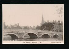 Beds Bedfordshire BEDFORD Bridge c1920/30s? RP PPC by Lilywhite