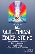 DIE GEHEIMNISSE EDLER STEINE - Ursula Klinger-Raatz BUCH