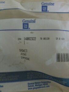 Engine Valve Cover Gasket ACDelco GM Original Equipment 14082322