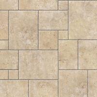 1/12 Dolls House Limestone Random Floor Tiles A3 Sheet Non-Embossed Card DIY778