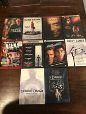 Lot of 10 Drama/Thriller Dvd Movies: Donnie Darko, The Crow, Sixth Sense.