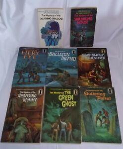 Alfred Hitchcock The Three Investigators Mystery Books PB Lot of 8
