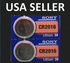 2x CR2016 3V  COIN-BATTERY for KEYLESS ENTRY REMOTE KEY FOB LEXUS FORD DODGE.