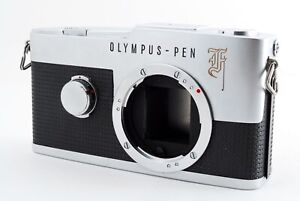 """AS-IS"" Olympus PEN F 35mm Half Film Camera Body From Japan 8671"