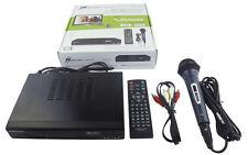 Mediasonic HomeWorx HW220STB HDTV Converter Box w/Karaoke HDMI Out Microphone