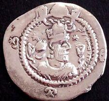 Drachm-drachme-sasanian-sasaniden-sassanides-persien-persian-persia Nr.185 Coins: Ancient