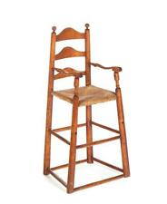 Delaware Valley Ladderback High Chair. Lot 93