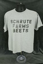 Mens EUC the Office T Shirt Dwight Large Schrute Farms Beets Pre-owned