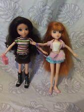 Bratz Moxie Girlz Teen Dolls 2009 Mga Fully Dressed Lot of 2