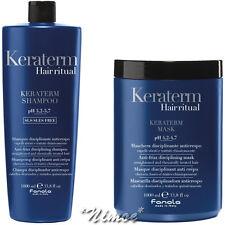 Keraterm Kit Max Shampoo 1Lt + Mask 1Lt Fanola ® Anti-frizz Disciplining 2pcs