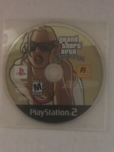 Grand Theft Auto: San Andreas (Sony PlayStation 2, 2004) Game Only