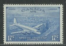 Canada 1946 Airmail Special Delivery--Attractive Airplane Topical (CE4) MNH