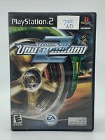 Need for Speed: Underground 2 (Sony PlayStation 2 PS2 2004) CIB Complete in Box