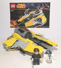 Lego Starwars AnakinSkywalker Interceptor Set75038 Complete/Instructions/Minifig