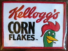 KELLOGGS CORN FLAKES / TERRY LABONTE Willabee Ward NASCAR RACING TEAM PATCH Only