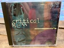Critical Mass by Critical Mass (CD, Oct-2000, Metropolis (Label))