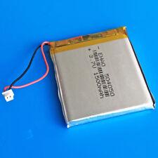 3.7V 1500mAh LiPo Battery for PC DVD PAD PSP Speaker 504050 JST 1.25mm Connector