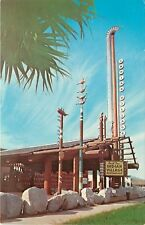 Vintage Postcard Smith Bros. Indian Village Restaurant 4020 PCH Torrance CA