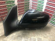 TOYOTA AVENSIS 2003 2004 2005 N/S PASSENGER WING MIRROR ELECTRIC BLACK 3 WIRE